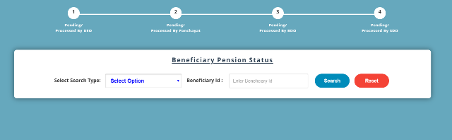 pension payment status
