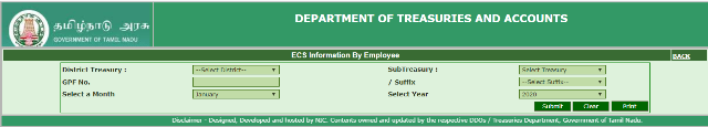 ECS Status Of Government Employees