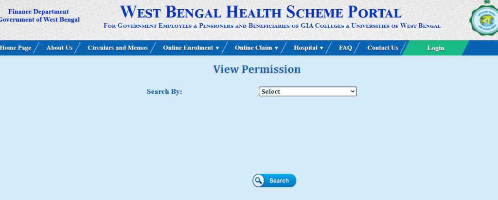 View Permission Of Hospital