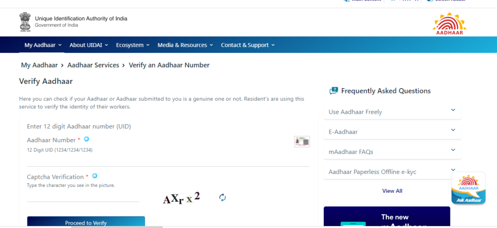 how to download aadhar card online
