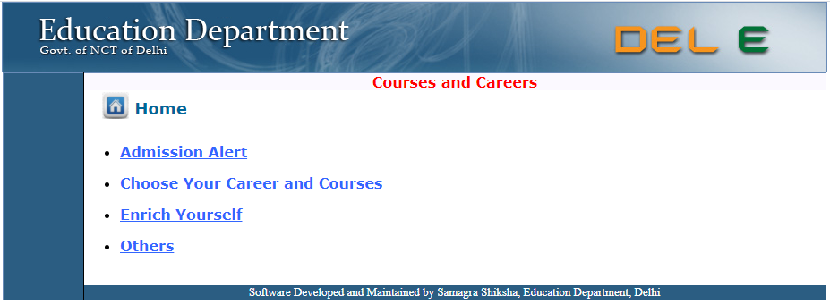 View Courses And Career